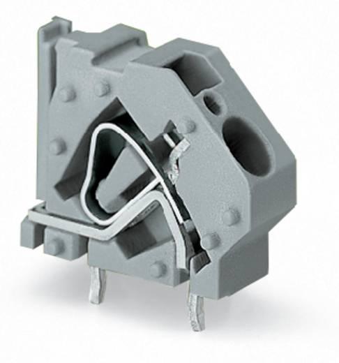 Federkraftklemmblock 6.00 mm² Polzahl 1 WAGO Licht-Grau 100 St.