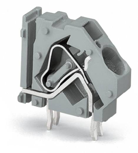 Federkraftklemmblock 16.00 mm² Polzahl 1 WAGO Grün-Gelb 100 St.