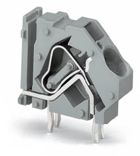 Federkraftklemmblock 16.00 mm² Polzahl 1 WAGO Licht-Grau 100 St.