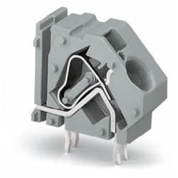 Pružinová svorka WAGO 745-871/006-000, 16.00 mm², Počet pinov 1, sivá, 100 ks