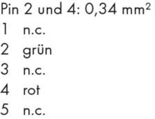 PROFIBUS-Kabel, axial 756-1101/060-100 WAGO Inhalt: 1 St.