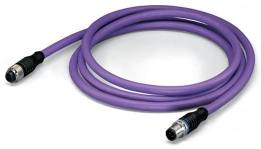 Sensor-/Aktor-Datensteckverbinder, konfektioniert M12 Stecker, gerade, Buchse, gerade 5 m Polzahl: 5 WAGO 756-1105/060-0