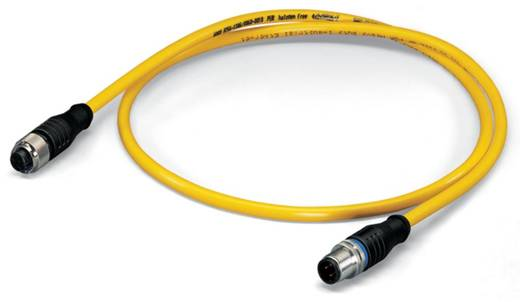 Sensor-/Aktor-Datensteckverbinder, konfektioniert M12 Stecker, gerade, Buchse, gerade 50 m Polzahl: 5 WAGO 756-1505/060-