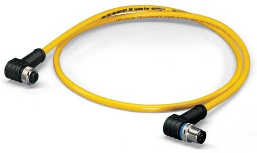 Sensor-/Aktor-Datensteckverbinder, konfektioniert M12 Stecker, gewinkelt, Buchse, gewinkelt 0.50 m Polzahl: 5 WAGO 756-1