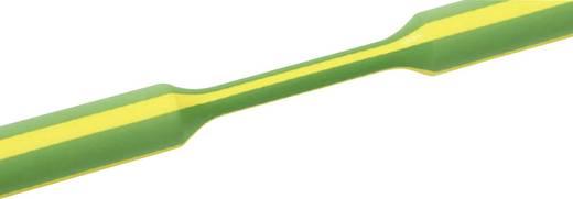 Schrumpfschlauch ohne Kleber Grün-Gelb 6 mm Schrumpfrate:3:1 HellermannTyton 319-00607 TREDUX-6/2-GNYE 1 m