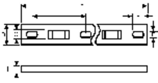 Befestigungssockel schraubbar Natur HellermannTyton 151-25619 MSMP6-N66-NA-C1 1 St.