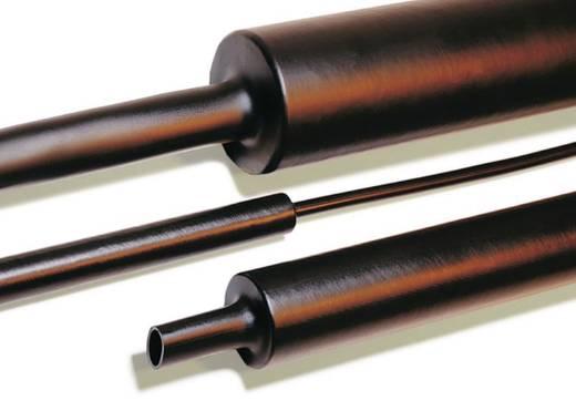 Schrumpfschlauch mit Kleber Schwarz 19 mm Schrumpfrate:4:1 HellermannTyton 323-50190 TREDUX MA47 - 19/6 1 m