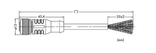 Sensor-/Aktor-Datensteckverbinder, konfektioniert Buchse, gerade 10 m WAGO 756-1501/060-100 1 St.