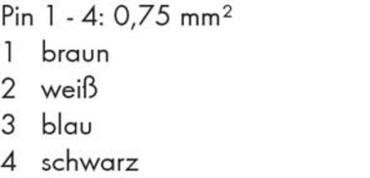 Versorgungskabel, winklig 756-3106/040-100 WAGO Inhalt: 1 St.