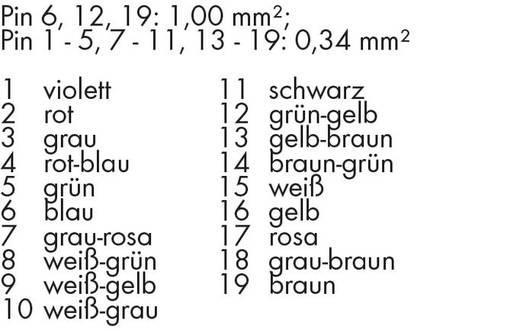 Verbindungskabel 756-3204/190-100 WAGO Inhalt: 1 St.