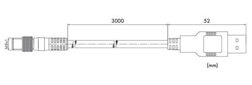 USB-Kommunikationskabel 756-4101/042-030 WAGO Inhalt: 1 St.
