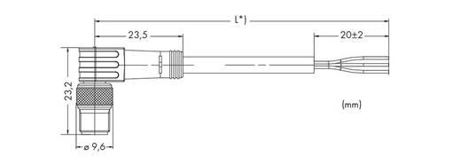 Sensor-/Aktor-Steckverbinder, konfektioniert Stecker, gewinkelt 10 m WAGO 756-5112/030-100 10 St.