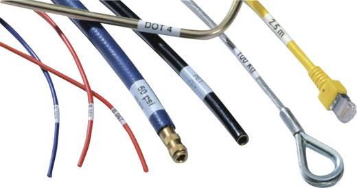 Kabel-Etikett Helasign 19.05 x 12.70 mm Farbe Beschriftungsfeld: Rot HellermannTyton 598-14027 HSMB-C2-1402-RD Anzahl Et