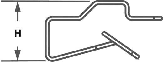Kabelclip schraubbar Panduit MCMS12-P-C 1 St.