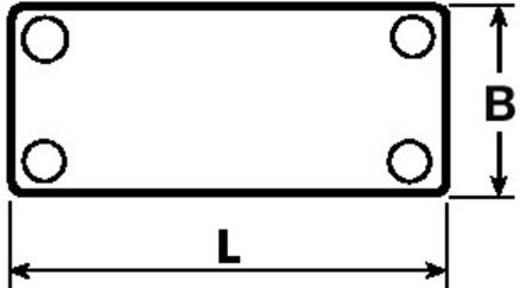 Leitermarkierer Montage-Art: Kabelbinder Beschriftungsfläche: 63.50 x 19.30 mm Passend für Serie Einzeldrähte, Universal