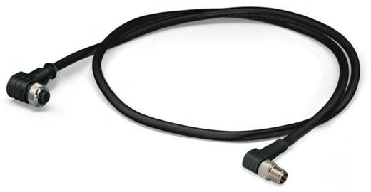 Sensor-/Aktor-Steckverbinder, konfektioniert M12 Stecker, gewinkelt, Buchse, gewinkelt 1 m Polzahl: 3 WAGO 756-5504/030-