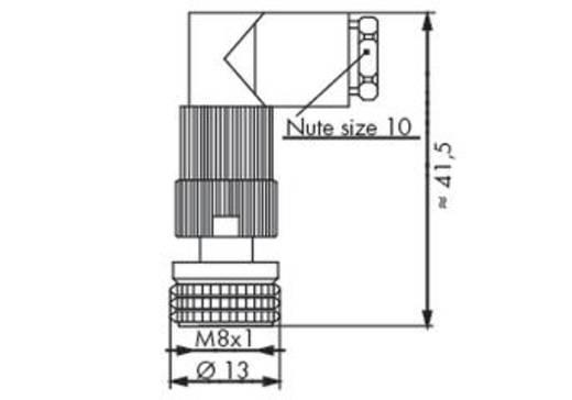 Steckverbinder für Sensor-/Aktorkabel 756-9115/030-000 WAGO Inhalt: 5 St.