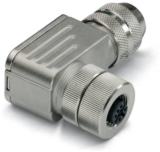 Sensor-/Aktor-Steckverbinder, unkonfektioniert M12 Buchse, gewinkelt Polzahl (RJ): 5 WAGO 756-9404/060-000 1 St.