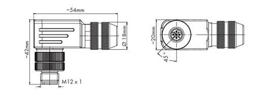 M12-Stecker 756-9501/040-000 WAGO Inhalt: 1 St.
