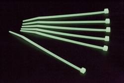 Serre-câbles 3.60 mm x 300 mm vert Conrad Components 546633 crantage intérieur 50 pc(s)