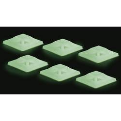 Úchytka TRU COMPONENTS 546681, zelená (žiarivá), 50 ks
