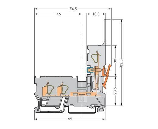 2-Leiter/1-Pin-Basisklemme WAGO Inhalt: 50 St.