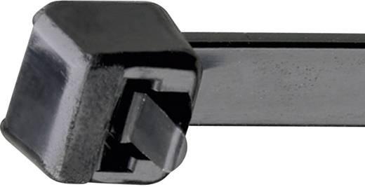 Kabelbinder 122 mm Schwarz Lösbar, mit Hebelverschluss, UV-stabilisiert, Witterungsstabil Panduit BSTC-362L PRT1.5S-C0 1