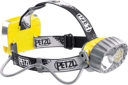 LED Stirnlampe Petzl LED Duo 14 akkubetrieben 380 g Gelb-Schwarz E72AC