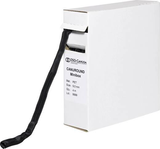 Geflechtschlauch Schwarz Polyester 9 bis 9 mm DSG Canusa 8690090955 4 m