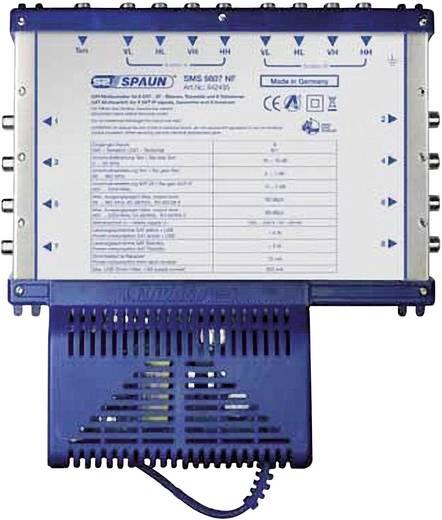 SAT Multischalter Spaun Light SMS 9807 NF Eingänge (Multischalter): 9 (8 SAT/1 terrestrisch) Teilnehmer-Anzahl: 8 StandB