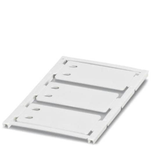 Leitermarkierer Montage-Art: Kabelbinder Beschriftungsfläche: 52 x 30 mm Passend für Serie Einzeldrähte Weiß Phoenix Con