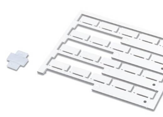 Leitermarkierer Beschriftungsfläche: 9 x 20 mm Passend für Serie Universaleinsatz Silber Phoenix Contact PKE 9X20 08039