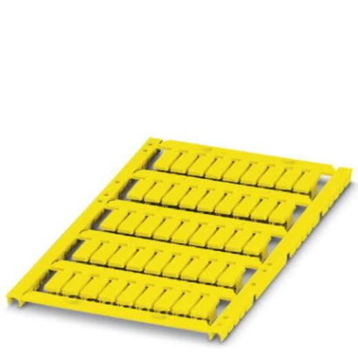 Leitermarkierer Montage-Art: einfädeln Beschriftungsfläche: 12 x 5.50 mm Passend für Serie Einzeldrähte Gelb Phoenix Con