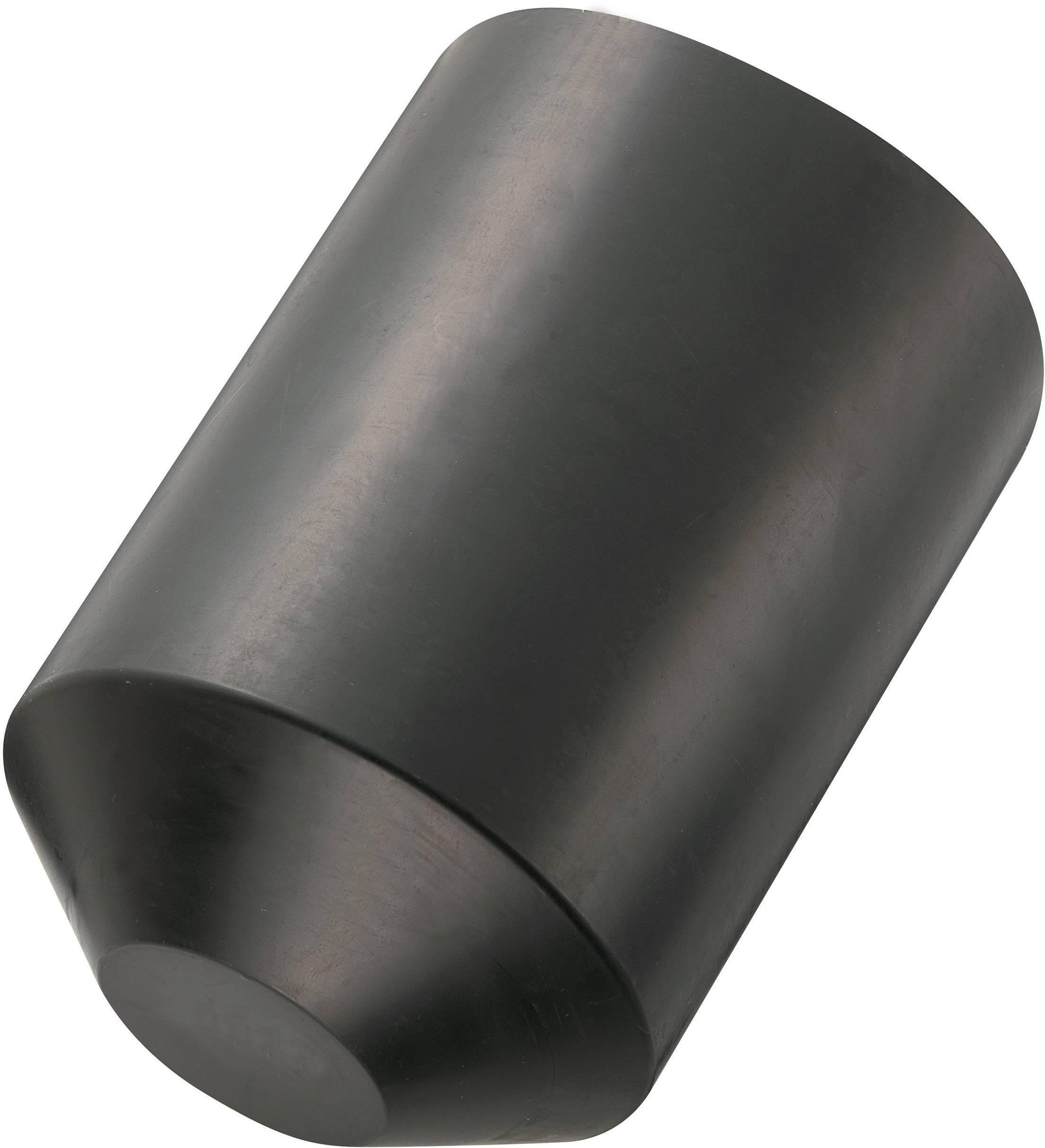 68mm ; Schrumpf Endkappe Schwarz WarmSchrumpf Endkappe 25,0-8,5mm ; L/änge