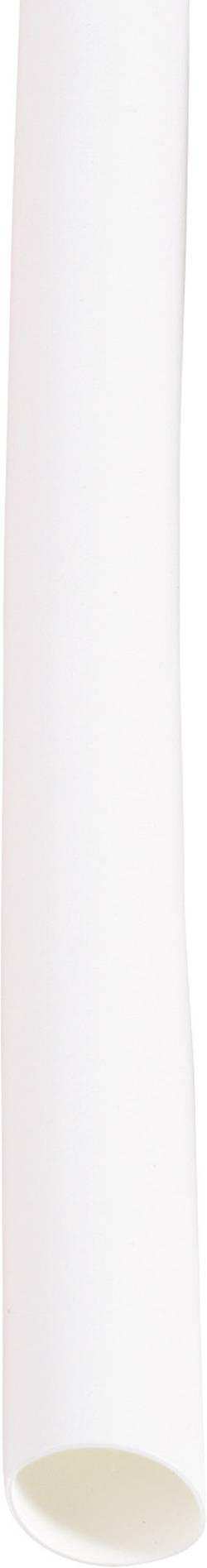 Gaine thermorétractable sans colle 2:1 DSG Canusa 2890095902 blanc Ø avant retreint: 9.50 mm au mètre