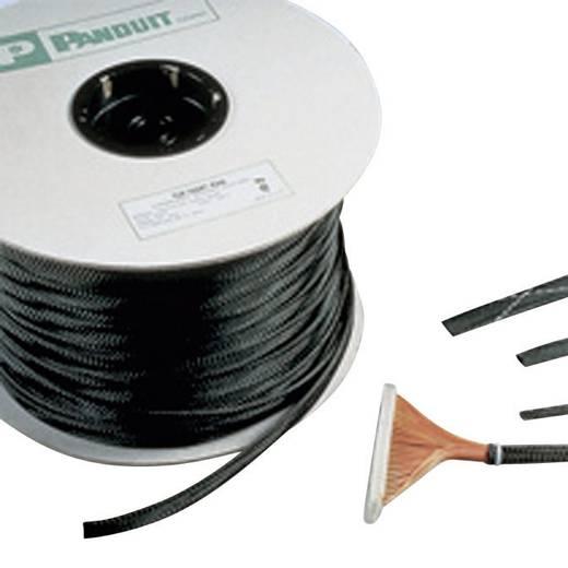 Geflechtschlauch Schwarz PET 6.40 bis 2.40 mm Panduit SE12P-TR0 Meterware