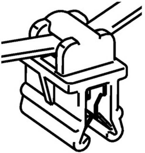 Kabelbinder 200 mm Schwarz Kabelbündelung quer der Montage HellermannTyton 156-05904 T50ROSEC10-MC5-BK-D1 1 St.