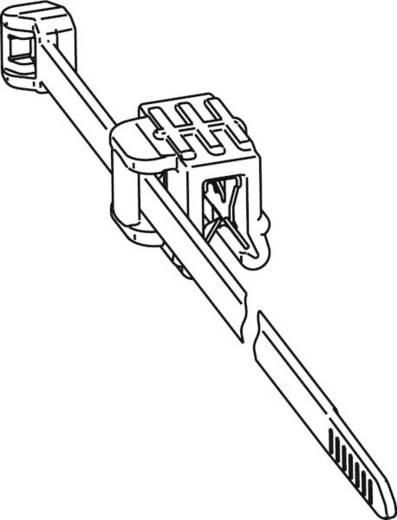 Kabelbinder 200 mm Schwarz Kabelbündelung seitlich zur Montage HellermannTyton 156-00011 T50ROSEC22-MC5-BK-D1 1 St.