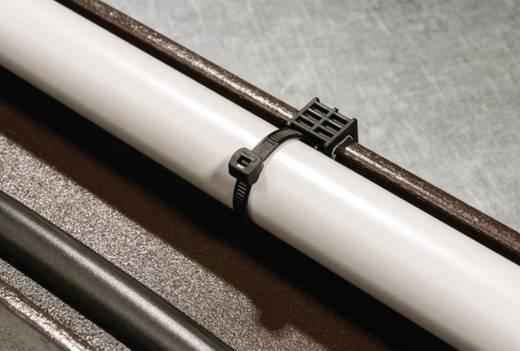 Kabelbinder 200 mm Schwarz Kabelbündelung seitlich zur Montage HellermannTyton 156-00006 T50ROSEC23-MC5-BK-D1 1 St.