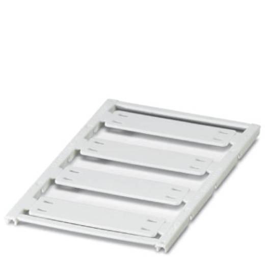 Leitermarkierer Montage-Art: Kabelbinder Beschriftungsfläche: 44 x 15 mm Passend für Serie Einzeldrähte Weiß Phoenix Con