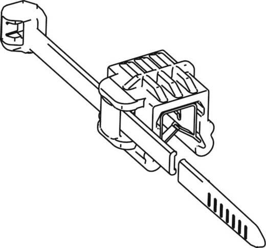 Kabelbinder 200 mm Schwarz Kabelbündelung seitlich zur Montage HellermannTyton 156-00007 T50ROSEC24-MC5-BK-D1 1 St.
