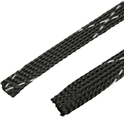 Geflechtschlauch Schwarz PET 9.50 bis 3.20 mm Panduit SE25PFR-TR0 Meterware