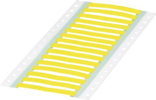 Schrumpfschlauchmarkierer Montage-Art: aufschieben Beschriftungsfläche: 60 x 9 mm Gelb Phoenix Contact WMS 4,8 (60X9)R