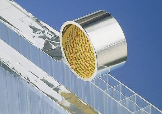 Aluminium-Klebeband 3M Silber (L x B) 50 m x 50 mm Kautschuk Inhalt: 1 Rolle(n)