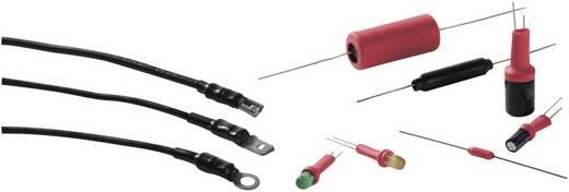 Schrumpfschlauch ohne Kleber Schwarz 1.20 mm Schrumpfrate:2:1 HellermannTyton 300-73010 TCN20-1,2/0,6-BK Meterware