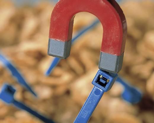 Kabelbinder 200 mm Blau Detektierbar HellermannTyton 111-00830 MCT50R-PA66MP-BU-C1 1 St.