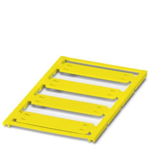 Leitermarkierer Montage-Art: Kabelbinder Beschriftungsfläche: 44 x 15 mm Passend für Serie Einzeldrähte Gelb Phoenix Con