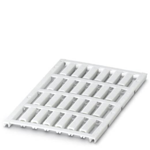 Leitermarkierer Montage-Art: aufclipsen Beschriftungsfläche: 21 x 5 mm Passend für Serie Einzeldrähte Weiß Phoenix Conta
