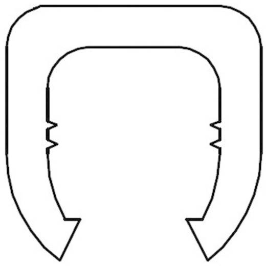 Kennzeichnungsclip Aufdruck W Außendurchmesser-Bereich 4 bis 5.10 mm 28530c653 MB2/W KSS