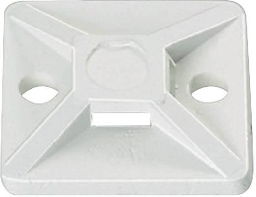 Befestigungssockel schraubbar 4fach einfädeln, halogenfrei , UV-stabilisiert, witterungsstabil Transparent HellermannTy